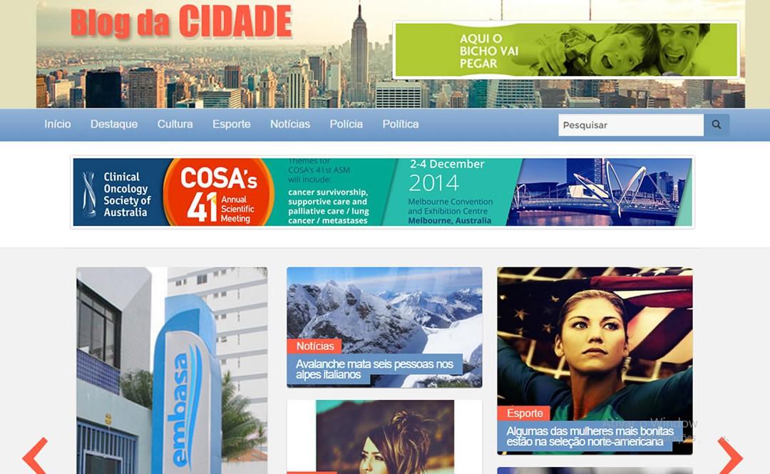 Blog da Cidade – Portal de Notícias