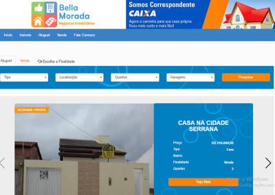 Conquista Bella Morada – Site para imobiliária.